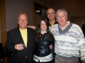 Guitarist and Bass player from Lighthouse with Mena and father Robert Hardy